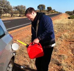 benzin-bitmesi